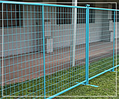Palisade Fence Temporary Fence Mesh Panel Fencing Factory